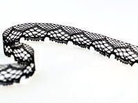Bobbin lace No. 75019 black | 30 m