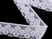 Bobbin lace No. 75021 white | 30 m