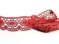 Bobbin lace No. 75032 red bilberry | 30 m