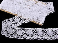 Bobbin lace No. 75032 white | 30 m