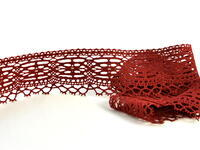 Bobbin lace No. 75037 red bilberry | 30 m