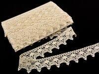 Bobbin lace No. 75041 ecru | 30 m