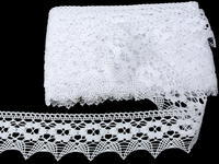 Bobbin lace No. 75050 white | 30 m