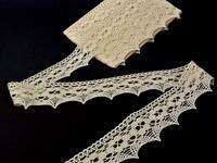 Bobbin lace No. 75050 ecru | 30 m