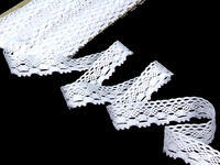 Bobbin lace No. 75084 white | 30 m