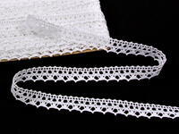 Bobbin lace No. 75087 white | 30 m