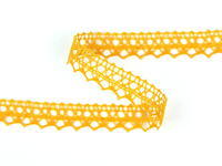 Bobbin lace No. 75087 dark yellow | 30 m