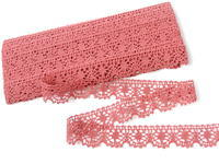 Bobbin lace No. 75088 rose | 30 m