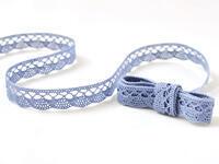 Bobbin lace No. 75428/75099 sky blue | 30 m