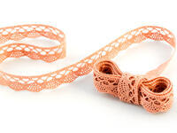 Bobbin lace No. 75428/75099 salmon pink | 30 m