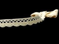 Bobbin lace No. 75428/75099 ecru | 30 m