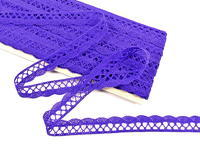 Bobbin lace No. 75428/75099 purple | 30 m