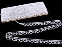 Bobbin lace No. 75100 white | 30 m