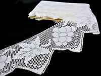 Bobbin lace No. 75102 white | 30 m