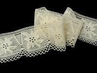 Bobbin lace No. 75112 ecru | 30 m
