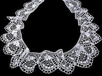 Bobbin lace No. 75116 white | 30 m