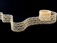 Bobbin lace No. 75123 ecru | 30 m
