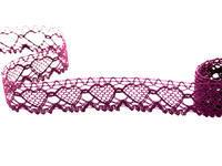 Paličkovaná krajka vzor 75133 filaová | 30 m