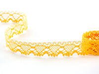 Bobbin lace No. 75133 dark yellow | 30 m