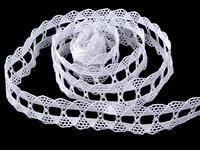 Bobbin lace No. 75170 white | 30 m