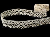 Bobbin lace No. 75173 ecru | 30 m