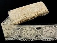 Bobbin lace No. 75183 ecru | 30 m