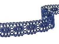 Paličkovaná krajka vzor 75187 modrá | 30 m