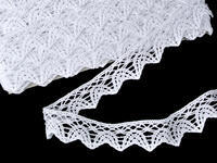 Bobbin lace No. 75206 white | 30 m