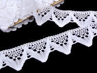 Bobbin lace No. 75221 white | 30 m