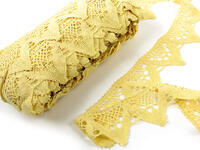 Bobbin lace No. 75221 light yellow | 30 m