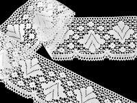 Bobbin lace No. 75224 white | 30 m