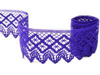Bobbin lace No. 75234 purple | 30 m