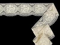 Bobbin lace No. 75237 ecru | 30 m