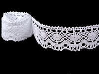 Bobbin lace No. 75238 white | 30 m