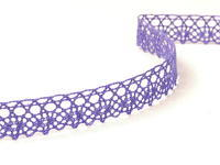 Paličkovaná krajka vzor 75239 purpurová II. | 30 m
