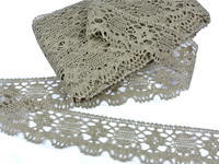 Bobbin lace No. 75253 natural linen | 30 m
