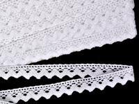Bobbin lace No. 75259 white | 30 m