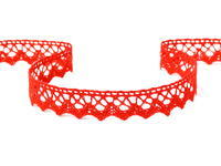 Bobbin lace No. 75259 red | 30 m