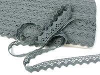Bobbin lace No. 75259 grey III. | 30 m