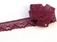 Bobbin lace No. 75261 violet | 30 m