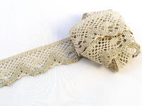 Bobbin lace No. 75261 light linen | 30 m