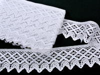 Bobbin lace No. 75293 white | 30 m