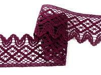 Bobbin lace No. 75293 violet | 30 m