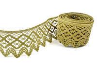 Bobbin lace No. 75293 green | 30 m