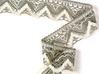 Bobbin lace No. 75301 dark linen/ecru | 30 m