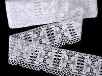 Bobbin lace No. 75313 white | 30 m