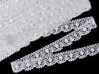 Bobbin lace No. 75328 white | 30 m
