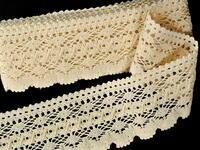 Bobbin lace No. 75335 ecru | 30 m