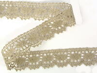 Bobbin lace No. 75394 natural linen | 30 m