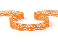 Bobbin lace No. 75395 orange | 30 m